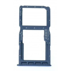 Huawei P30 Lite (MAR-LX1A) Držiak sim a microSD modrá - originál