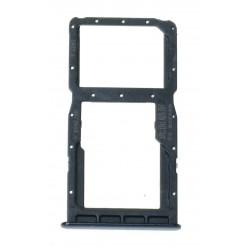 Huawei P30 Lite (MAR-LX1A) Držák sim a microSD černá - originál
