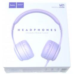 hoco. W21 sluchátka fialová