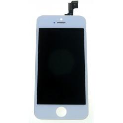 Apple iPhone 5S - LCD displej + dotyková plocha bílá - TianMa
