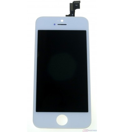Apple iPhone 5S LCD displej + dotyková plocha biela - TianMa