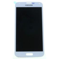 Samsung Galaxy S5 G900F LCD displej + dotyková plocha bílá