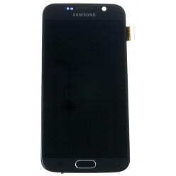 Samsung Galaxy S6 G920F LCD displej + dotyková plocha + rám čierna