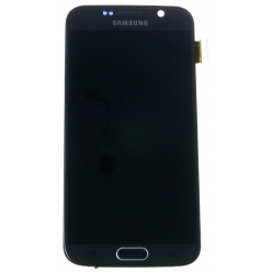 Samsung Galaxy S6 G920F LCD + touch screen + front panel black