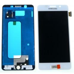 Samsung Galaxy A5 A510F (2016) LCD displej + dotyková plocha + rám biela