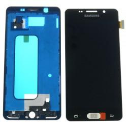 Samsung Galaxy A5 A510F (2016) LCD displej + dotyková plocha + rám čierna