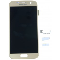 Samsung Galaxy S7 G930F LCD + touch screen gold