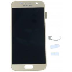 Samsung Galaxy S7 G930F LCD displej + dotyková plocha zlatá