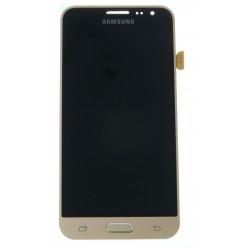 Samsung Galaxy J3 J320F (2016) LCD displej + dotyková plocha zlatá