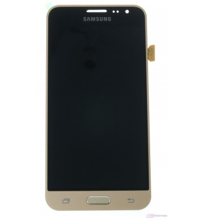Samsung Galaxy J3 J320F (2016) LCD + touch screen gold