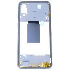 Samsung Galaxy A40 SM-A405FN Rám stredový biela - originál
