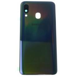 Samsung Galaxy A40 SM-A405FN Battery cover black - original