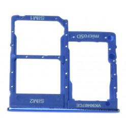 Samsung Galaxy A40 SM-A405FN SIM and microSD holder blue - original