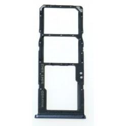 Samsung Galaxy A70 SM-A705FN Držák sim a microSD černá - originál