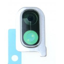 Samsung Galaxy A40 SM-A405FN Sklíčko kamery bílá - originál