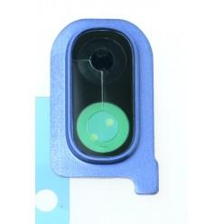Samsung Galaxy A40 SM-A405FN Rám sklíčka kamery modrá - originál