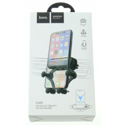 hoco. CA51 air outlet mobile phone holder black