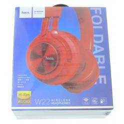 hoco. W22 bezdrátové sluchátka červená