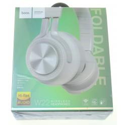 hoco. W22 wireless headphone white