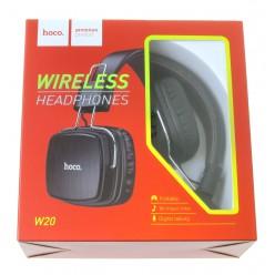 hoco. W20 bezdrátové sluchátka černá