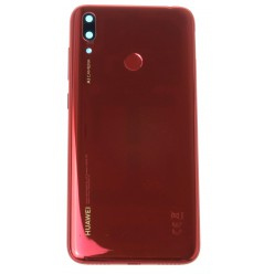 Huawei Y7 2019 (DUB-LX1) Kryt zadný červená - originál