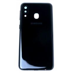 Samsung Galaxy A20e SM-A202F Battery cover black - original