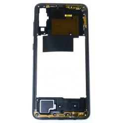 Samsung Galaxy A70 SM-A705FN Rám stredový čierna - originál