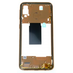 Samsung Galaxy A40 SM-A405FN Rám středový měděná - originál