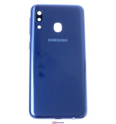 Samsung Galaxy A20e SM-A202F Battery cover blue - original