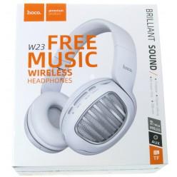 hoco. W23 bezdrátové sluchátka bílá