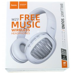 hoco. W23 wireless headphone white