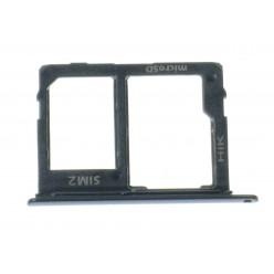 Samsung Galaxy A6 (2018) A600F Držiak sim a microSD čierna