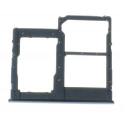 Samsung Galaxy A20e SM-A202F Držiak sim a microSD čierna