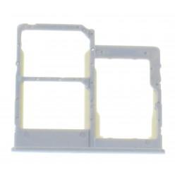 Samsung Galaxy A20e SM-A202F Držiak sim a microSD biela