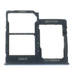 Samsung Galaxy A40 SM-A405FN Držiak sim a microSD čierna