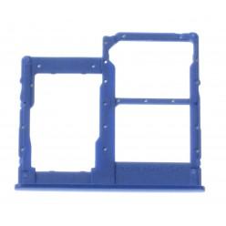 Samsung Galaxy A40 SM-A405FN SIM and microSD holder blue