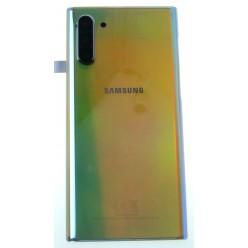Samsung Galaxy Note 10 N970F Kryt zadní stříbrná - originál