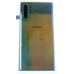 Samsung Galaxy Note 10 Plus N975F Kryt zadní stříbrná - originál