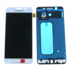 Samsung Galaxy A3 A310F (2016) LCD displej + dotyková plocha + rám bílá