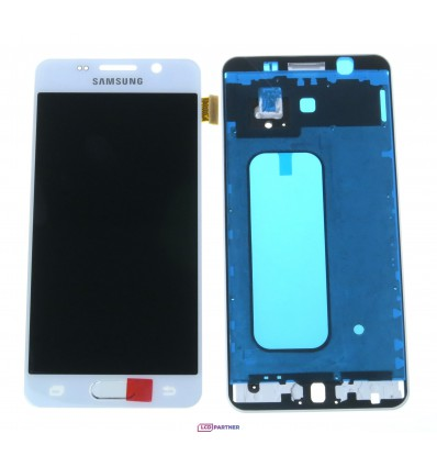 Samsung Galaxy A3 A310F (2016) LCD + touch screen + front panel white