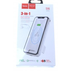 hoco. S16 powerbank 10000mAh white