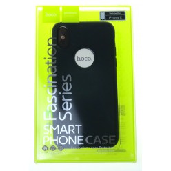 hoco. Apple iPhone X Cover fascination series black