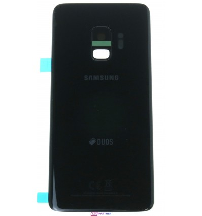 Samsung Galaxy S9 G960F DS Battery cover black - original