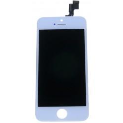 Apple iPhone 5S, SE LCD displej + dotyková plocha bílá - repas