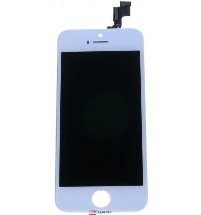 Apple iPhone 5S, SE LCD displej + dotyková plocha biela - repas