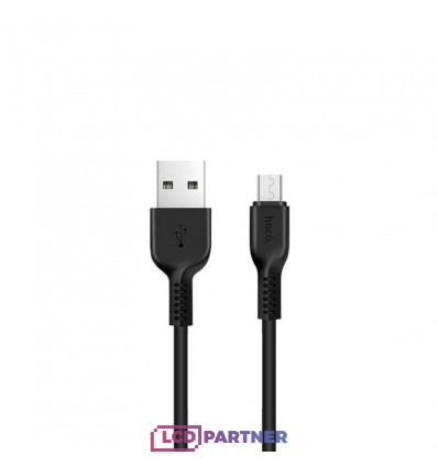 hoco. X13 charging cable microUSB 1m black