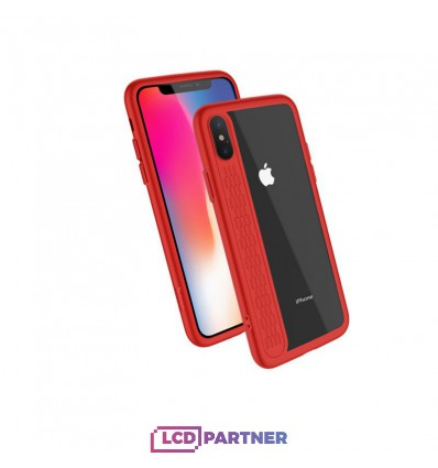 hoco. Apple iPhone X Transparent cover star shadow red