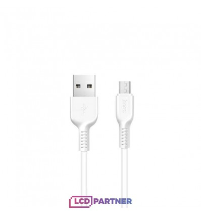 hoco. X13 charging cable microUSB 1m white