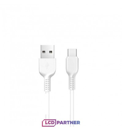 hoco. X13 charging cable type-c 1m white