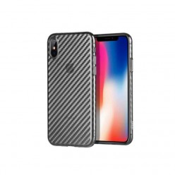 hoco. Apple iPhone 7 Plus, 8 Plus transparent cover lattice black
